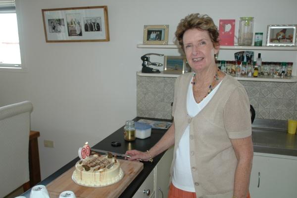 Mrs Wild 60th Cake