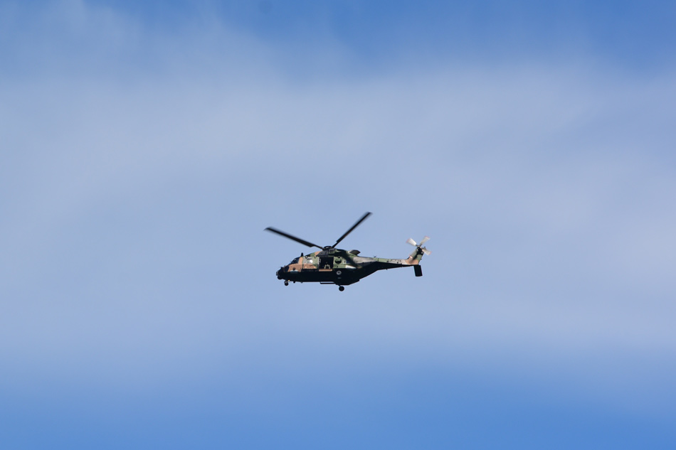 Military Helicopter of Sydney Heads