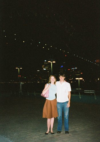 amy and me at milsons point