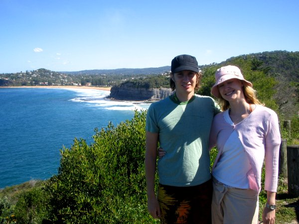 amy and me over the northern beaches