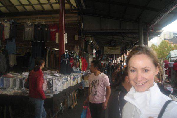 Amy  in the Victorian Markets