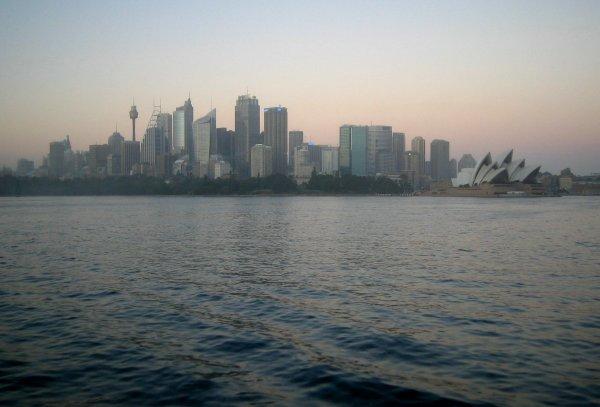 sydney view 06h30 am