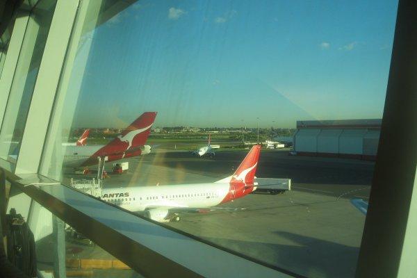 Sydney Airport Qantas Lounge